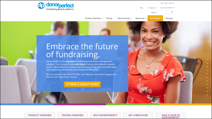 See how DonorPerfect's online charity auction software can help your nonprofit.