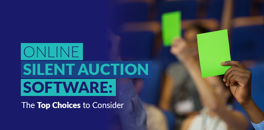 Online Silent Auction Software The Top 18 To Consider Donorsearch