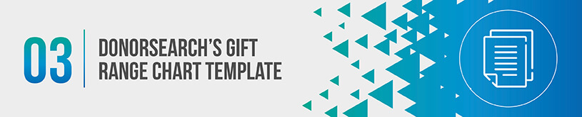 Improve your fundraising strategy by structuring your gift range chart like a pyramid.