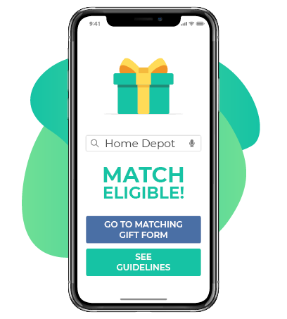 Donors can match their gift from anywhere