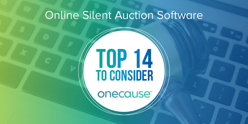 Online Silent Auction Software The Top 14 To Consider
