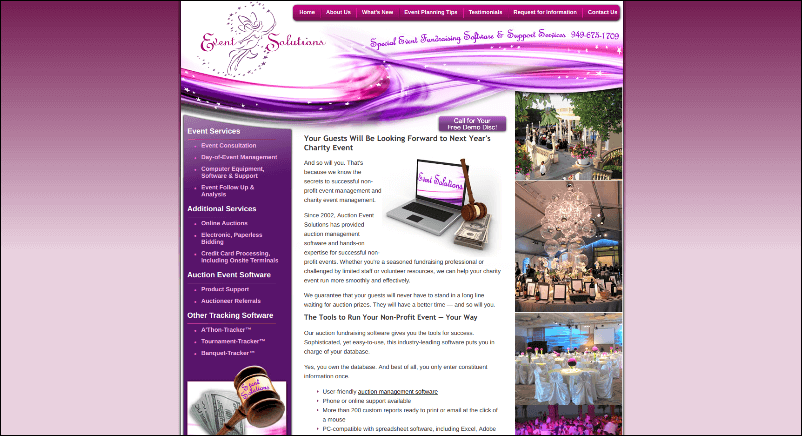 Auction Event Solutions can help your organization with their online silent auction software.