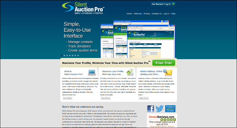 Silent Auction Pro's online silent auction software can assist your nonprofit in hosting your best silent auction event yet.