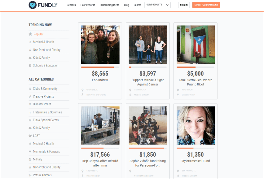 Fundly's crowdfunding platform provides built-in promotional tools for your university fundraising campaign.