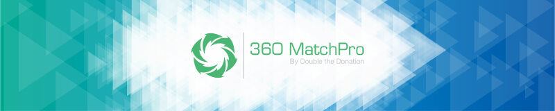 360MatchPro is a superb addition to any peer-to-peer fundraising campaign.