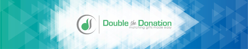Double the Donation is a great addition to any peer-to-peer fundraising campaign.