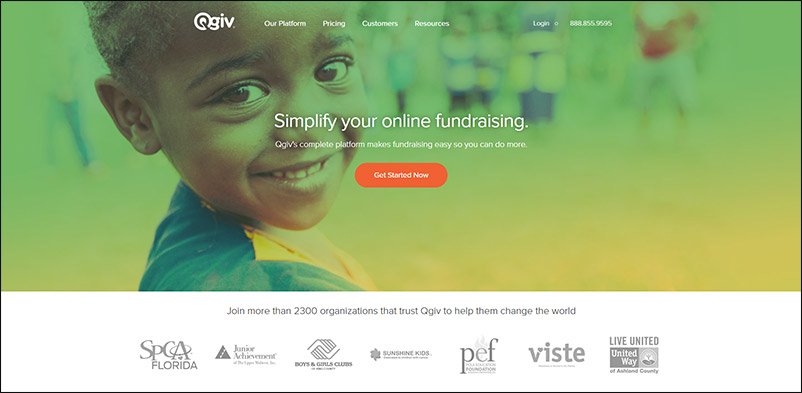 Host P2P fundraising events and coach your fundraisers with QGiv peer-to-peer fundraising software.