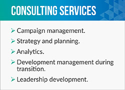 Call CCS Fundraising for strategy and planning before a huge campaign.
