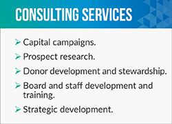 For long-term leadership training or capital campaign management, Capstone Advancement Partners are the fundraising consulting firm for you.