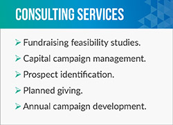 Whether you're launching a capital or endowment campaign, Jeffrey Byrne & Associates can help.