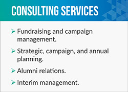 Phoenix Philanthropy can help nonprofits with strategic planning and campaign management.