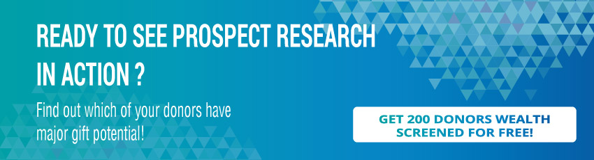 See prospect development and research in action!