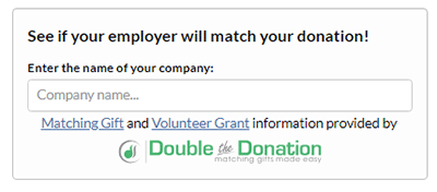 Matching gift databases quickly and easily help you find employers to match donations for university fundraising.