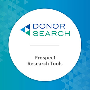 DonorSearch can revolutionize your prospect research.