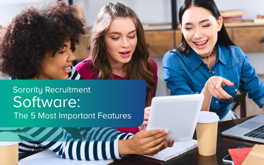 Make your next recruitment a success using sorority recruitment software with these five important features.