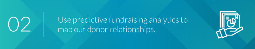 Find out how to use predictive fundraising analytics to map donor relationships.