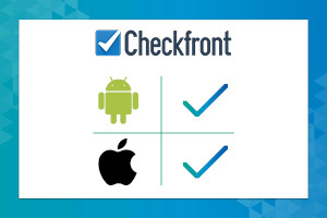 CheckFront's online wavier app feature is included in their booking mobile app on IOS and Android.