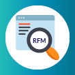 A prospect research screening tool should use an RFM score to help determine a donor's affinity to give