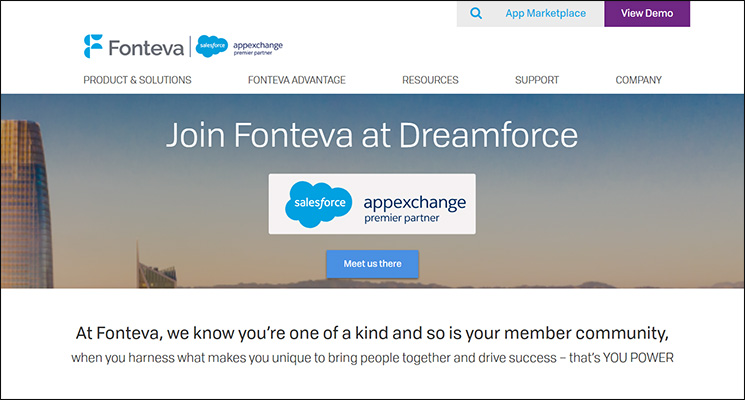 Check out Fonteva, a top Salesforce App for nonprofits.