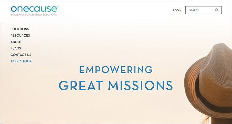 Check out OneCause as a top Salesforce App for nonprofits.