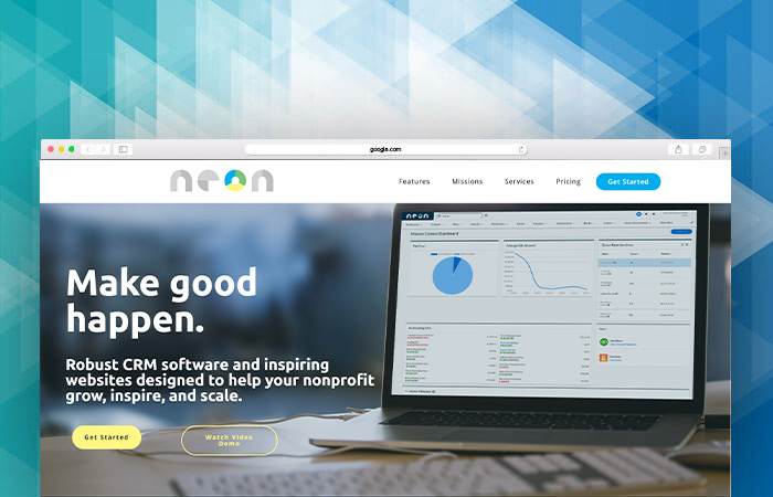 If you want to learn more about this fundraising software, go to NeonCRM's homepage.