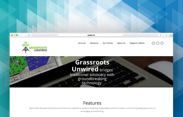 Learn more about Grassroots Unwired's canvassing software by visiting their homepage!