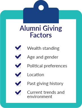 Check out these top alumni giving factors to be aware of.
