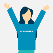 Encourage your major donors to volunteer!