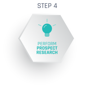 Performing prospect research is essential for your major gifts program.