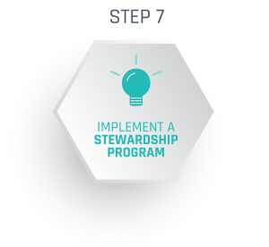 Consider implementing a stewardship program alongside your major gifts program.
