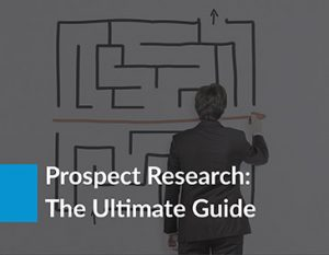 Check out this prospect research guide to improve your major gifts fundraising.
