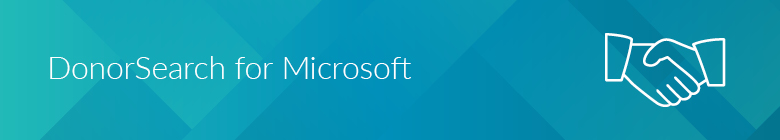 DonorSearch can seamlessly integrate with Microsoft Dynamics 365 for Nonprofits.
