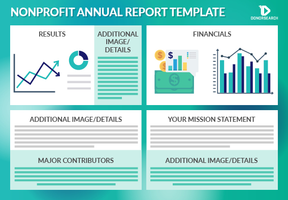 Consider using a nonprofit annual report template to guide the creation of your annual report.