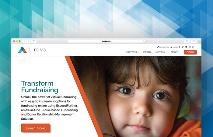 Arreva's website can tell you more about their fundraising software.