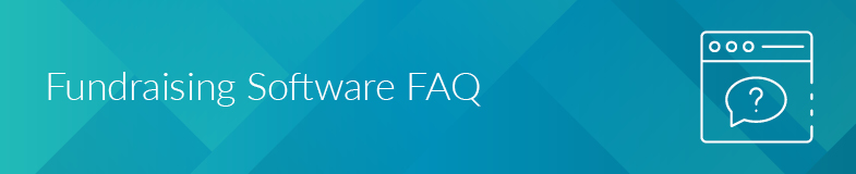 We'll answer some of the most common questions about fundraising software.