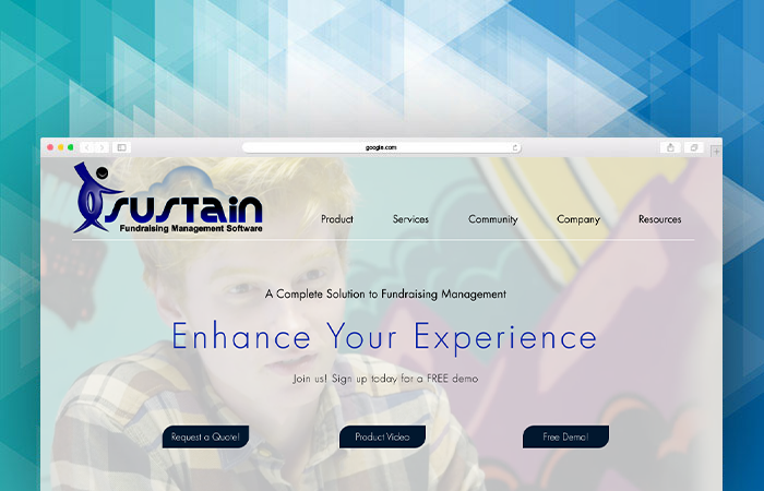 Sustain's website can tell you more about their fundraising software.