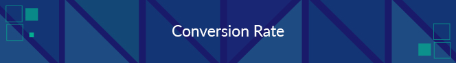 Conversion rate is a nonprofit fundraising metric that tracks the completion of goal actions.