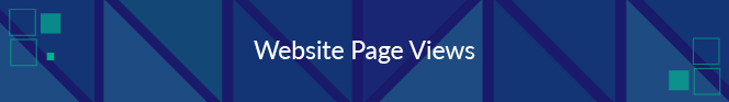 Website page views is a nonprofit fundraising metric that tells you how many views a given page on your website receives.