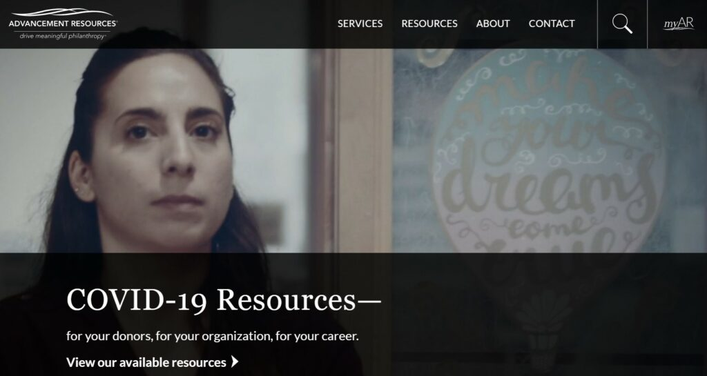 Advancement Resources is one of our favorite nonprofit consulting firms.