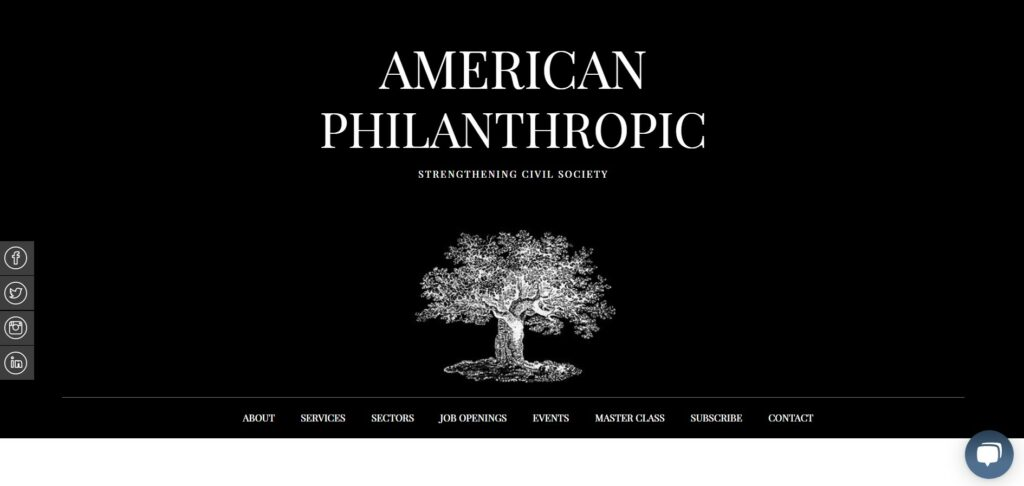 American Philanthropic is one of our favorite nonprofit consulting firms.