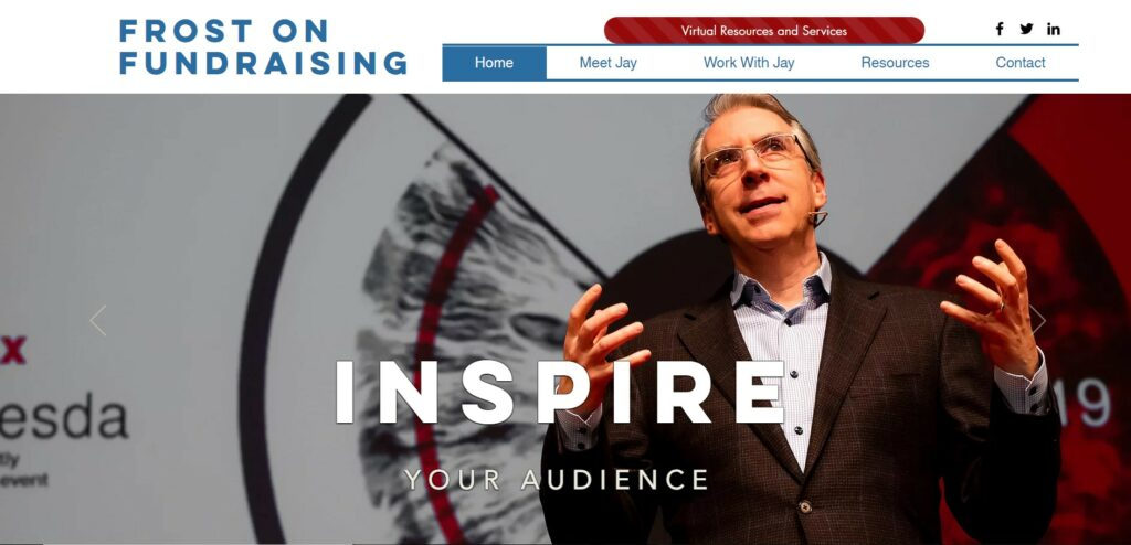 Frost on Fundraising is one of our favorite nonprofit consulting firms.