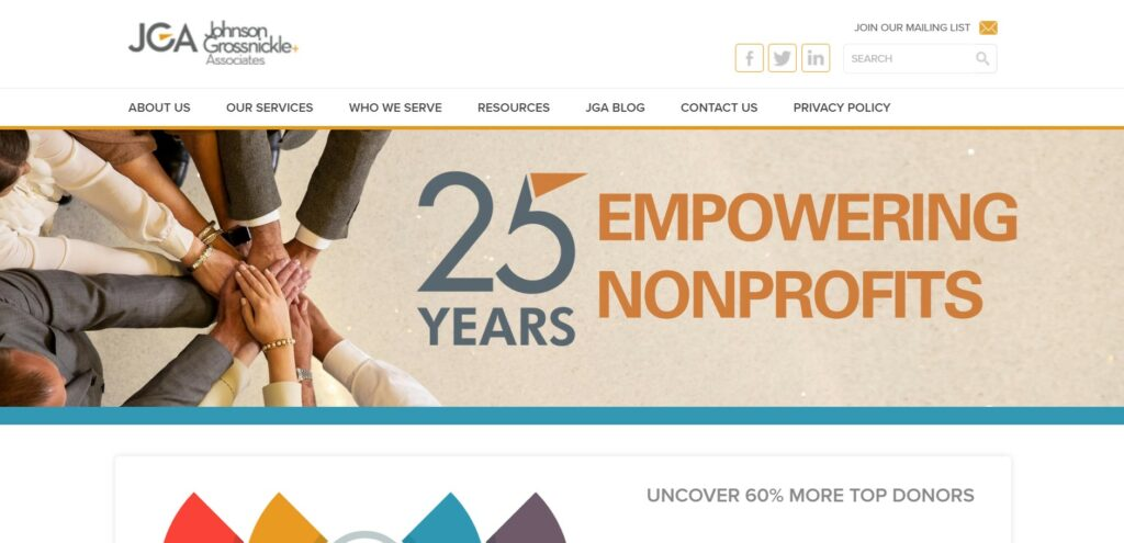 JGA is one of our favorite nonprofit consulting firms.