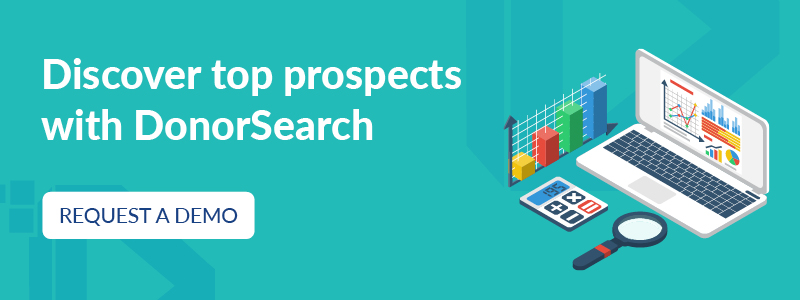 Discover top prospects with DonorSearch.