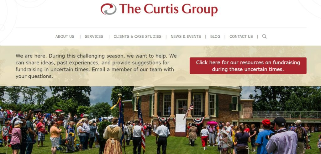 The Curtis Group is one of our favorite nonprofit consulting firms.