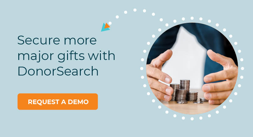 Secure more major gifts with DonorSearch