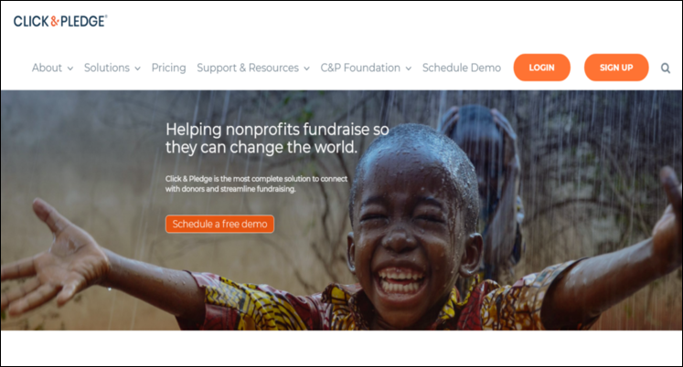 Learn about Click&Pledge, a Salesforce app for nonprofits.