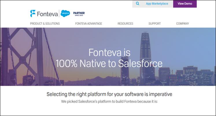 Check out Fonteva, a top Salesforce App for nonprofits.