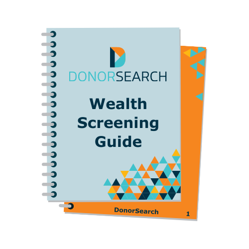 Cover image of the Wealth Screening Guide