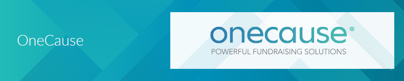 OneCause is a top Salesforce App for nonprofits for fundraising events.
