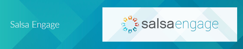 Salsa Engage is a top Salesforce App for nonprofits for supporter engagement.